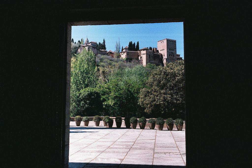 Vue de l'Alhambra