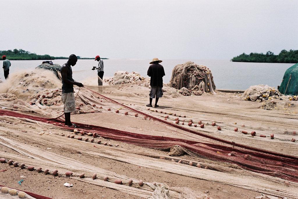 Réparateurs de files de pêche