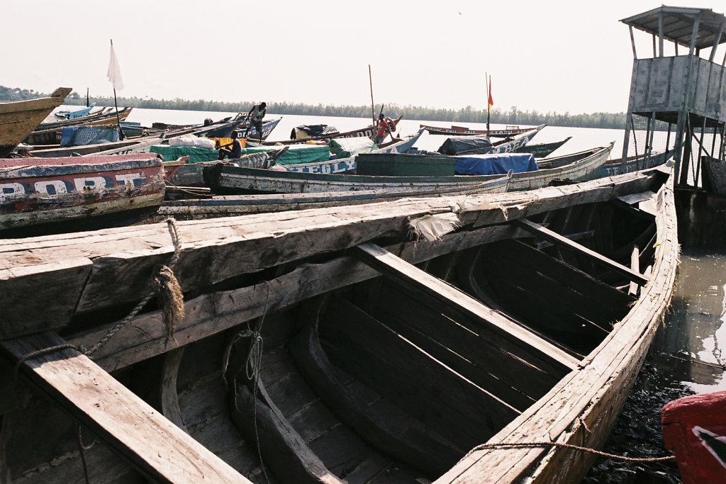 Pirogues de pêche