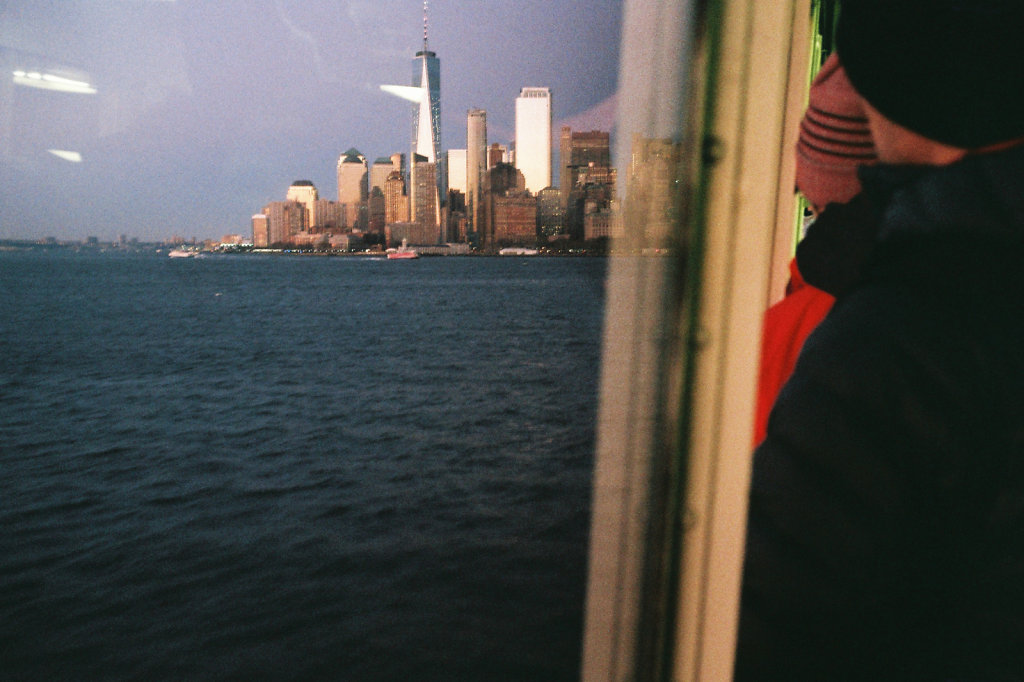 Ferry pour Staten Island (retour)
