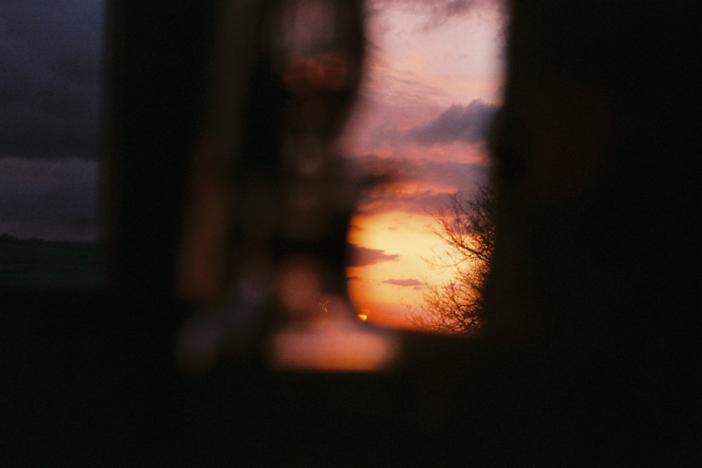 Coucher de soleil au flacon