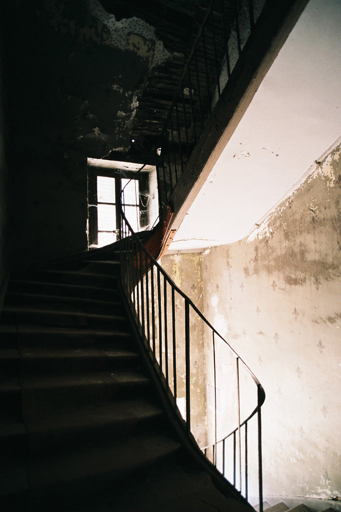 Escaliers de service