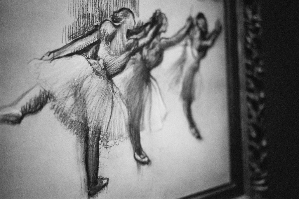 Trois études d'une danseuse